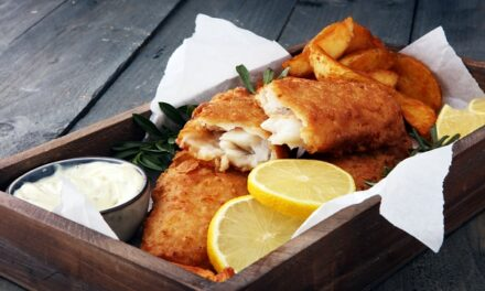 Grouper Fish & Chips