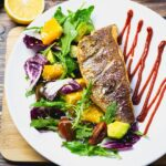 Pan Fried Snapper Fillet with Arugula Salad