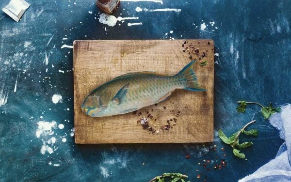 Baked Parrotfish