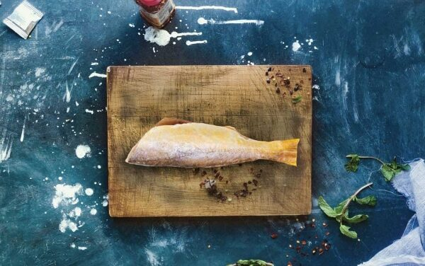 Pan-fried Sand Seatrout with Lemon