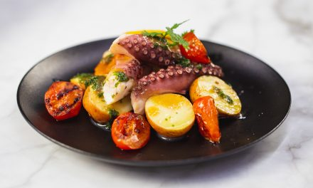 Grilled Marinated Octopus